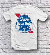 Save Deez Nuts- Blue Ribbon